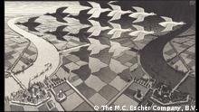 Austellung Escher's Journey im Fries Museum | Keramiekmuseum Princessehof (The M.C. Escher Company, B.V.)