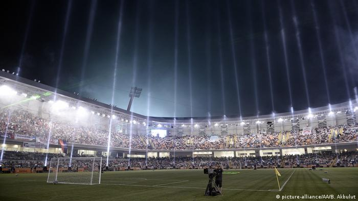 The opening ceremony of Basaksehir Fatih Terim football stadium is held in Istanbul, Turkey on July 26, 2014.