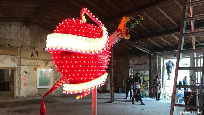 Gallery Weekend Installation von Tim Noble & Susan Webster