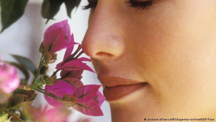 Symbolbild Riechende Nase (picture-alliance/Bildagentur-online/AGF-Foto)