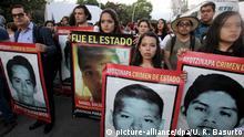Second anniversary of the disappearance of the 43 Mexican student