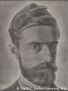 MC Escher sketch of himself (The M.C. Escher Company, B.V.)