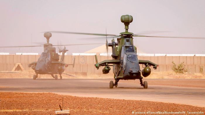 Mali UN-Mission MINUSMA | Kampfhubschrauber Tiger