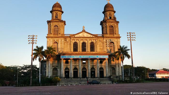 Nicaragua Kathedrale in Managua