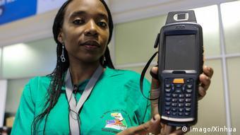 Namibia Wahlen Fingerabdruck-Identifikationssystem