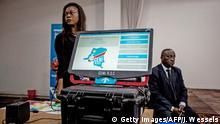 Demokratische Republik Kongo Wahlmaschine