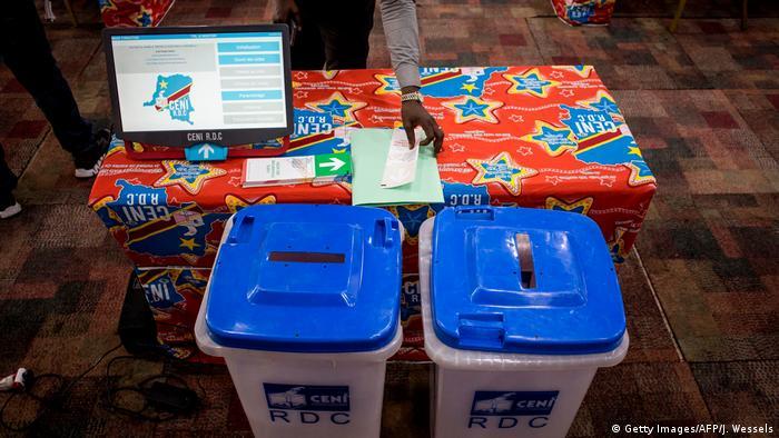 Sistema eletrónico de votação na RDC