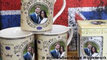 Vor der Hochzeit von Prinz Harry und Meghan
