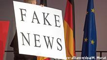Symbolbild Europa & Fake News