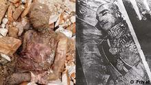 Iran mutmaßliche Mumie von Reza Shah Pahlavi