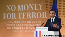 Frankreich Konferenz No Money for Terror