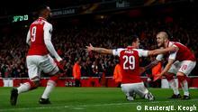 Liga Europa: Muita emoção, nenhuma decisão