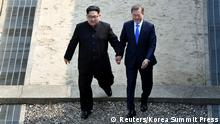 Innerkoreanischer Gipfel (Reuters/Korea Summit Press)