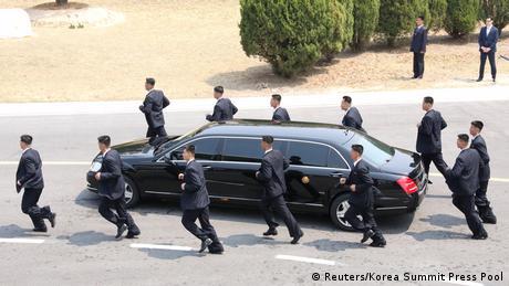 Korea-Gipfel (Reuters/Korea Summit Press Pool)