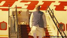 Indischer Premier Modi in China