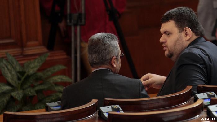 Цонев и Пеевски в НС