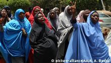 Nigeria Abuja Proteste von Schiiten des Islamic Movement