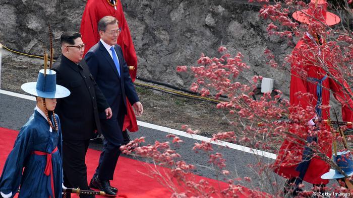 Korea summit 2018 (Getty Images)