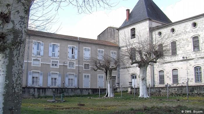 The Eysses prison building in southern France