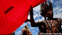 Brasilien Brasilia Proteste indigener Völker