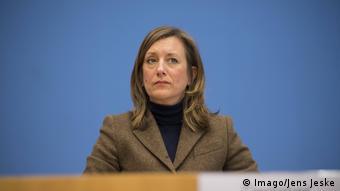 أولريكه ديمر نائبة المتحدث باسم الحكومة الألمانية