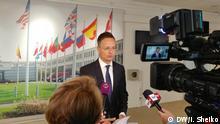 Peter Szijjarto Außenminister von Ungarn