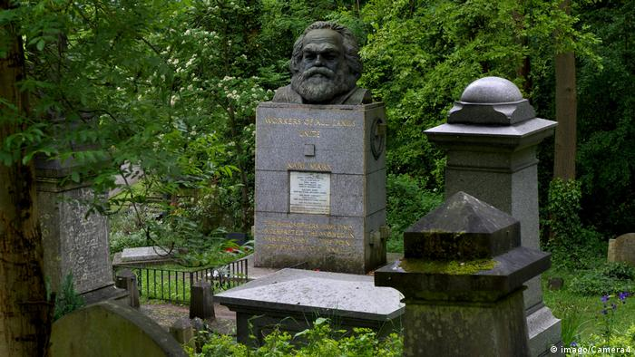 200. Geburtstag Karl Marx   Grabstätte Marx' auf dem Friedhof von Highgate in London