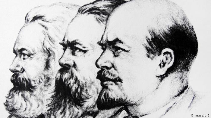 Маркс, Энгельс и Ленин