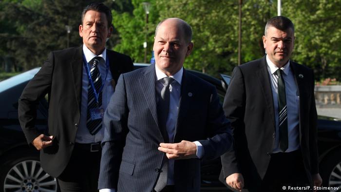 Bulgarien Treffen EU-Finanzminister in Sofia   Olaf Scholz, Deutschland