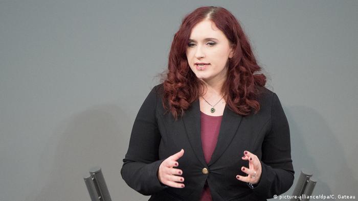 Agnieszka Brugger, member of the German Bundestag (picture-alliance/dpa/C. Gateau)