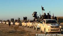 Syrien IS Terroristen