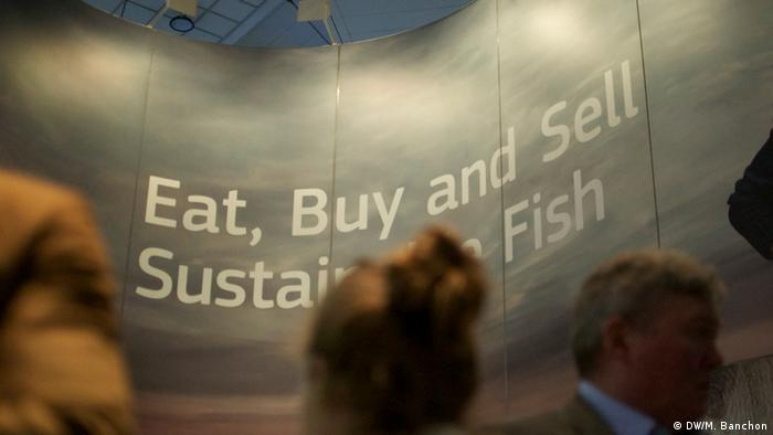 Seafood Messe in Brüssel (DW/M. Banchon)