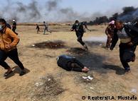 Багато палестинців загинуло через застосування ізраїльськими силовиками вогнепальної зброї