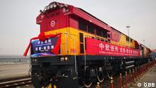 ÖBB Erster direkter Güterzug von China nach Wien