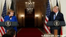 USA Washington | Präsident Donald Trump & Angela Merkel, Bundeskanzlerin