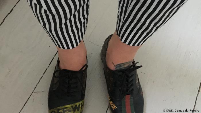 Martyna Zastawna prezentuje swoje buty. Jej WoshWosh to nie tylko odnowa obuwia