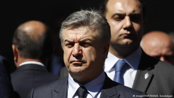Armenien Premierminister Karen Karapetyan