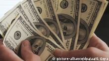 Argentinien Dollar Scheine