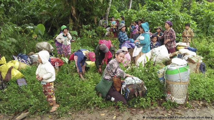 Kachin-Konflikt in Myanmar (picture-alliance/AP Photo/Labram Hkun Awng)
