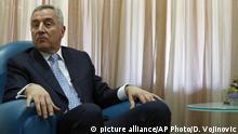 Milo Djukanovic, Präsident Montenegro