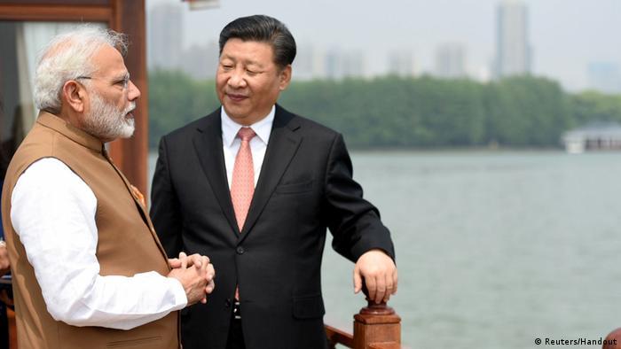 China - Narendra Modi und Xi Jinping