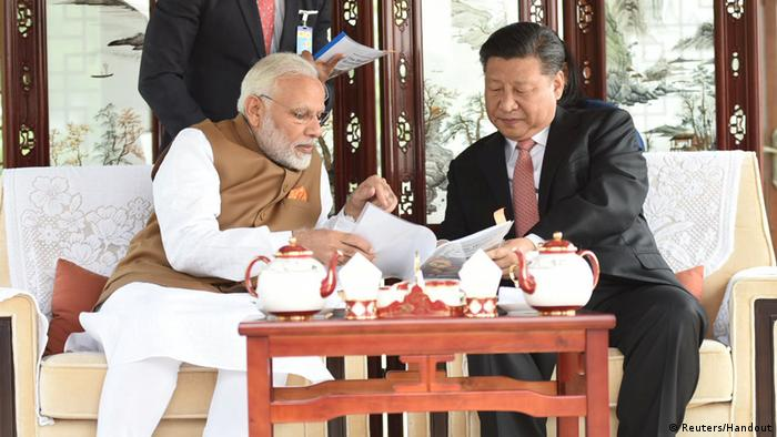 China - Narendra Modi und Xi Jinping (Reuters/Handout)