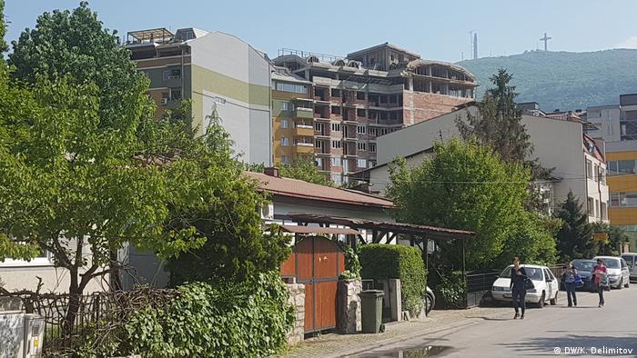 Stadtansicht von Skopje, Mazedonien (DW/K. Delimitov)