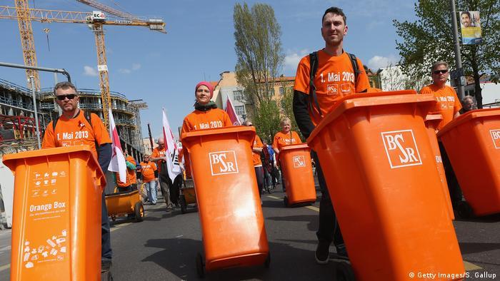 Gewerkschafts-Demonstration am 1. Mai