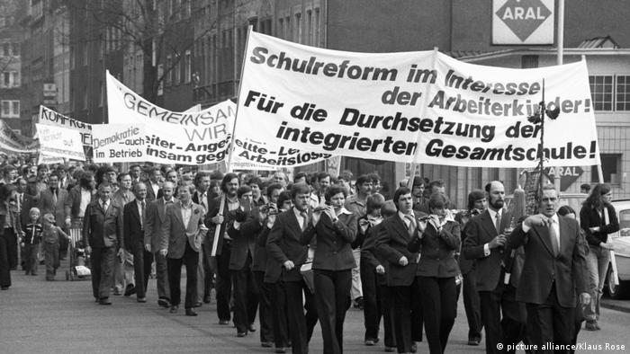 Gewerkschafts-Demonstration am 1. Mai 1978 (picture alliance/Klaus Rose)