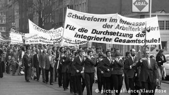Διαδηλωτές- μέλη του DGB 1 Μαϊου 1978