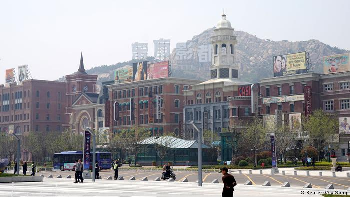 Chinas Filmstadt Qingdao (Reuters/Aly Song)