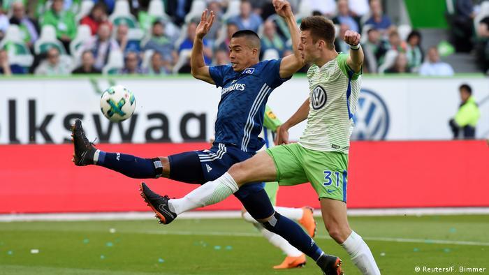 Fußball 1. Bundesliga | VfL Wolfsburg vs Hamburger SV (Reuters/F. Bimmer)