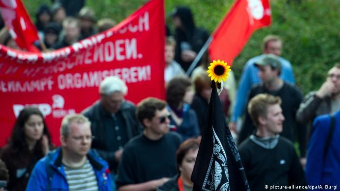 Першотравнева демонстрація у Берліні