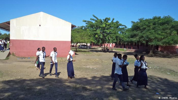 Escola Secundária de Sangarriveira, em Quelimane, na Zambézia